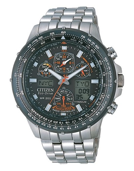 Citizen Skyhawk titanio Ti+IP